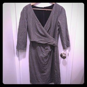 DKNY houndstooth dress